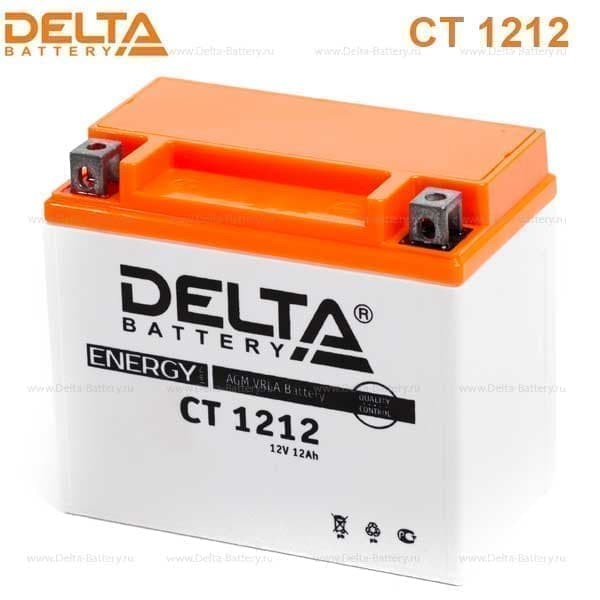 Аккумулятор для мототехники Delta Battery CT 1212 - фото 7