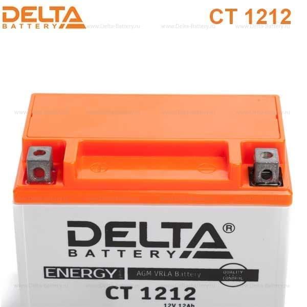 Аккумулятор для мототехники Delta Battery CT 1212 - фото 10