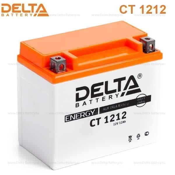 Аккумулятор для мототехники Delta Battery CT 1212 - фото 2